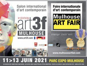 Salon international d'art contemporain art3f - Mulhouse