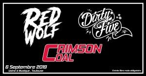 Red Wolf - Dirty Five - Crimson Coal