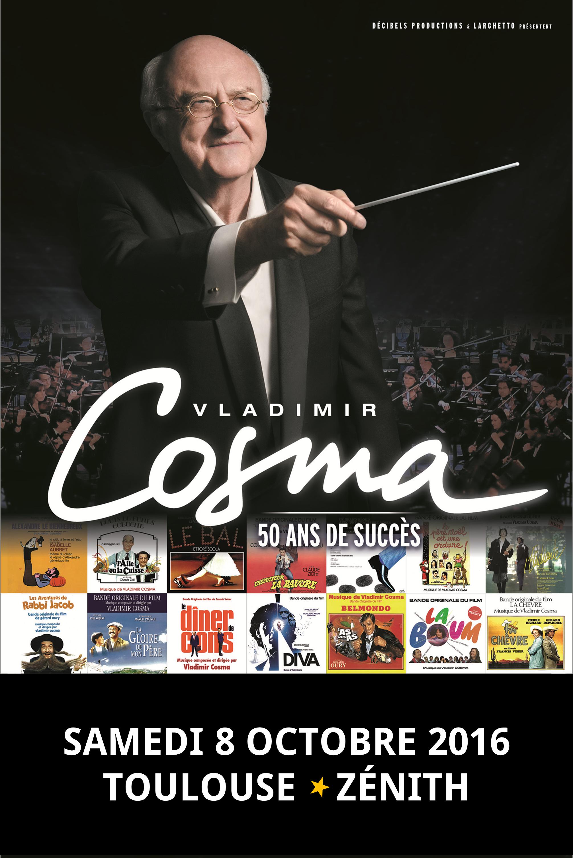 Vladimir Cosma Musique Pour Films Publicitaires Advertising Films Werbefilme