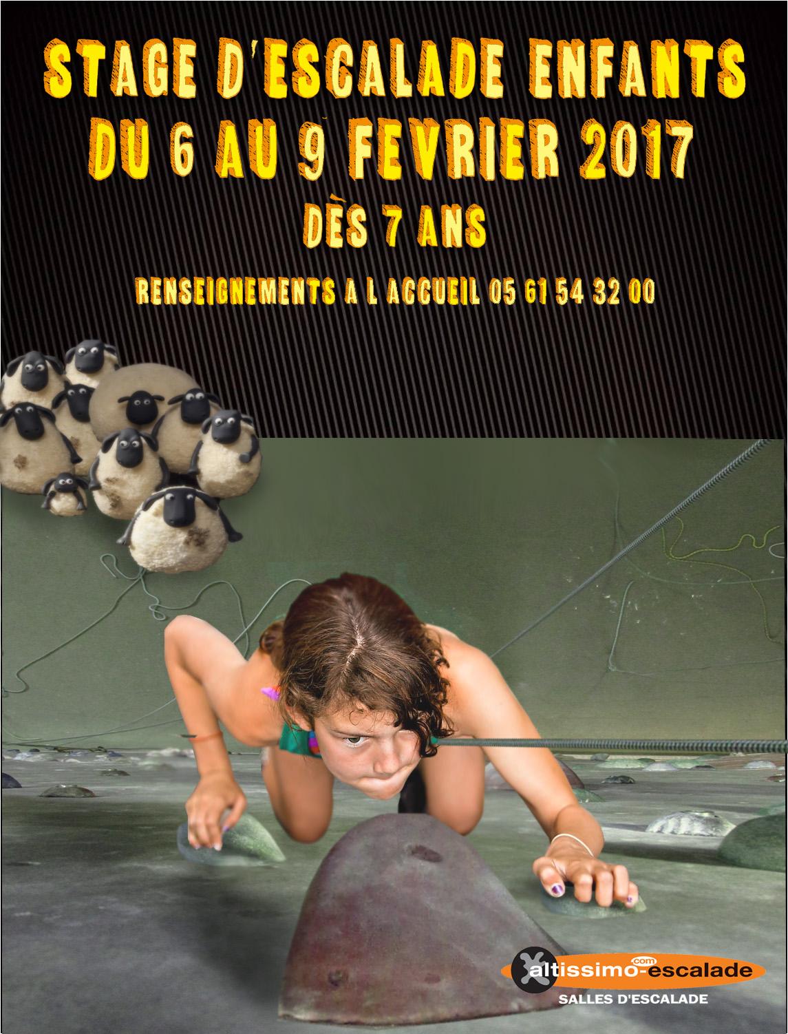 Altissimo montaudran stage escalade enfants - Vacances de fevrier paris 2017 ...