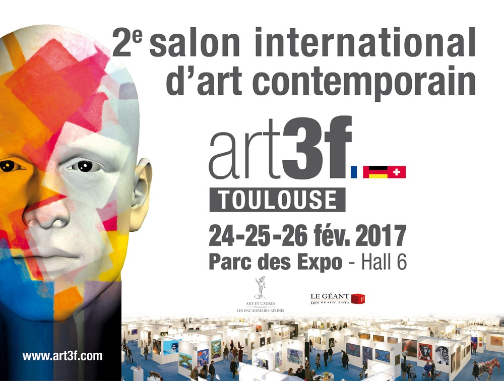 Art3f toulouse 2017 salon international d 39 art - Salon art contemporain ...