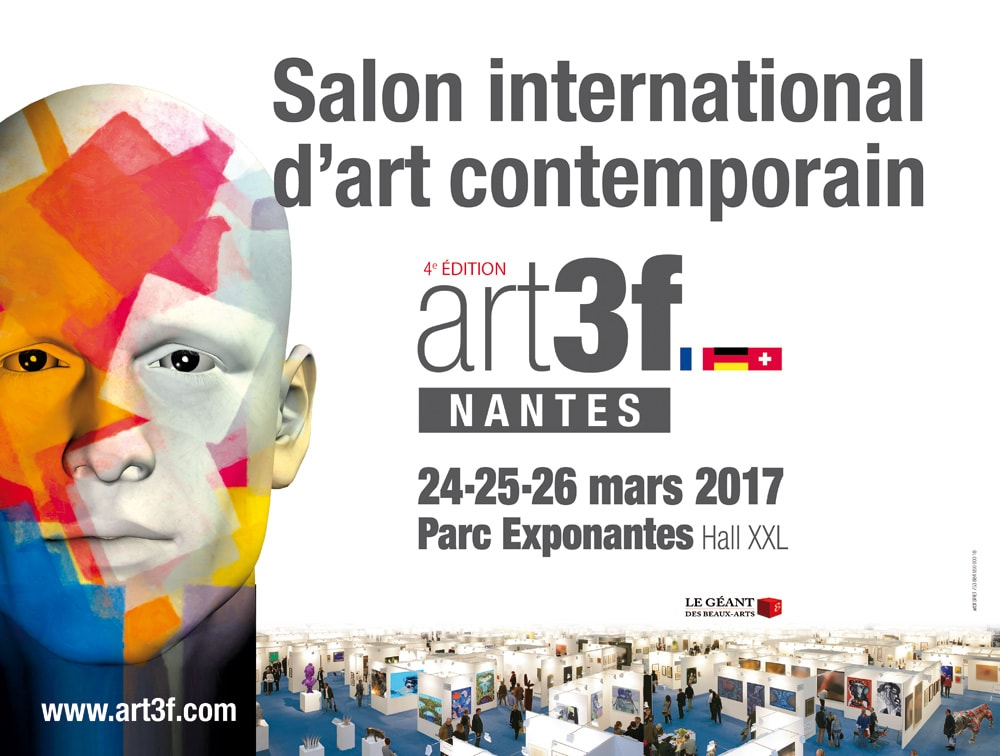 Art3f nantes 2017 salon international d 39 art contemporain - Salon art contemporain ...