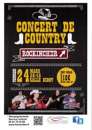 "Concert de country ""ROCKINCHER"""