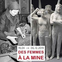 """Exposition """"Des femmes à la mine"""""""