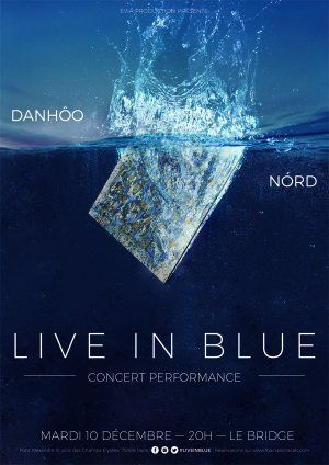 Live in Blue : concert performance de NÓRD et DanHôo au Bridge Paris