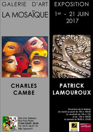 Charles Cambe et Patrick Lamouroux