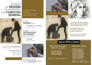 Stages de dessin en septembre