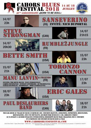 cahors blues festival