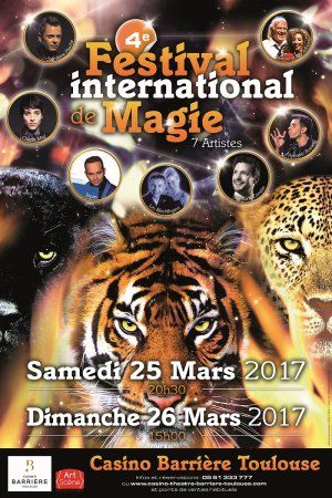 4EME FESTIVAL INTERNATIONAL DE MAGIE