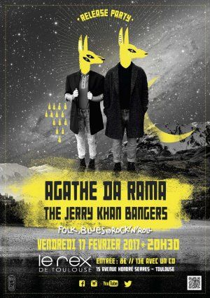 Agathe Da Rama + The Jerry Khan Bangers (Folk Blues & Rock'n Roll)